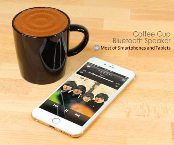Brando Coffee Cup Bluetooth Speaker: A Prank for the World's Best Dad