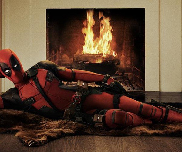 Deadpool Official Movie Costume: Actor with a Suit