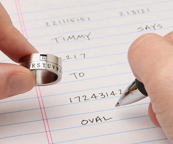 Secret Decoder Ring: B-E-S-U-R-E-T-O-D-R-I-N-K-Y-O-U-R-O-V-A-L-T-I-N-E