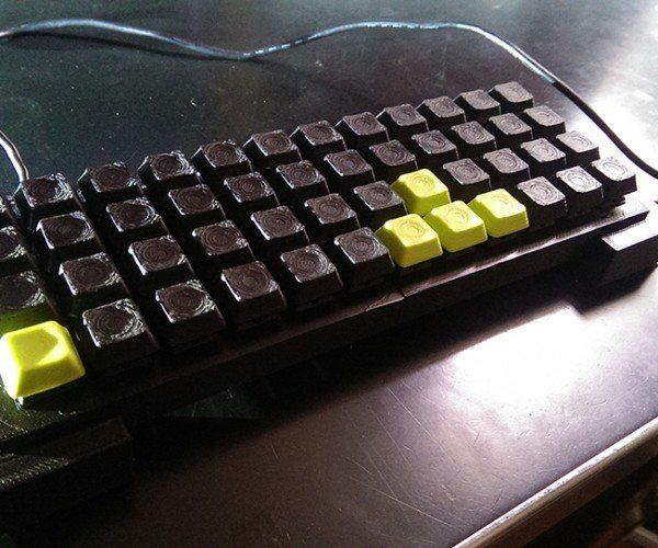 DIY Mechanical Keyboard: WASD Production