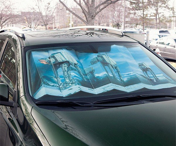 Empire Strikes Back Sunshade Cools Your Car with the Cooling Power of Hoth