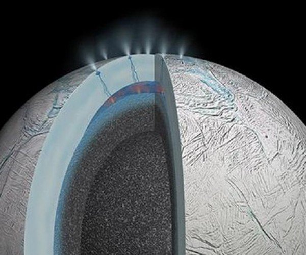 NASA Thinks One of Saturn's Moons Could Support Life