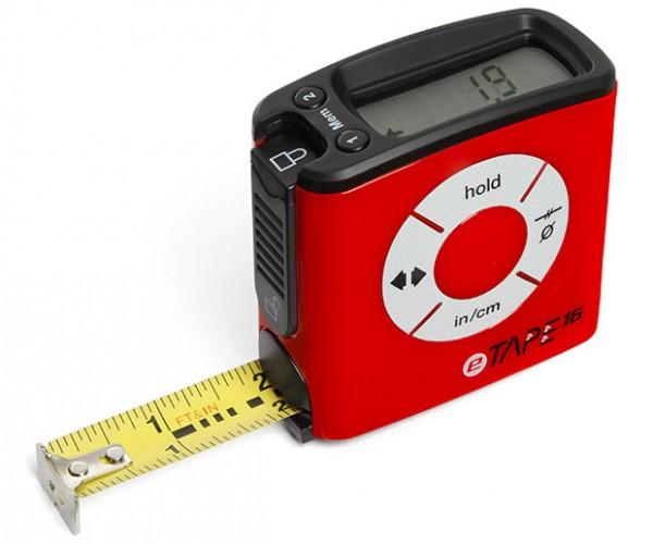 eTape16 Measuring Tape Eliminates the Guessing