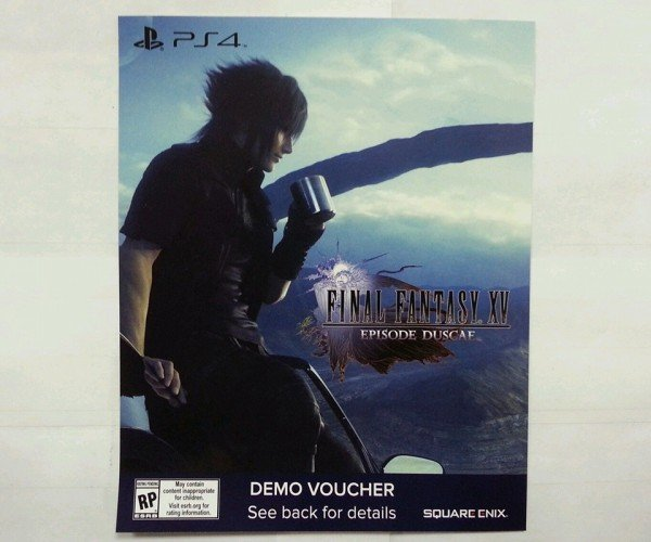 Final Fantasy XV Demo Codes Are on eBay: No Type-0