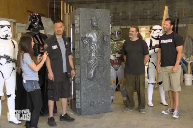 han solo carbonite coffin coffee table: only from ikea cloud city