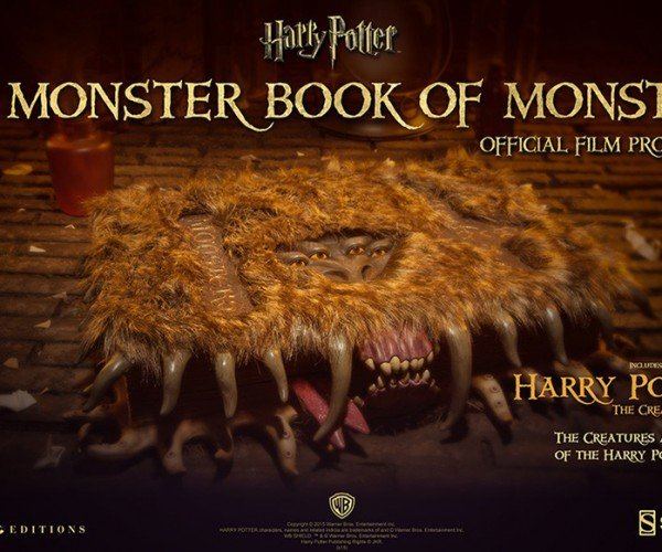 Harry Potter Monster Book of Monsters Replica: Expensivo Proptonum