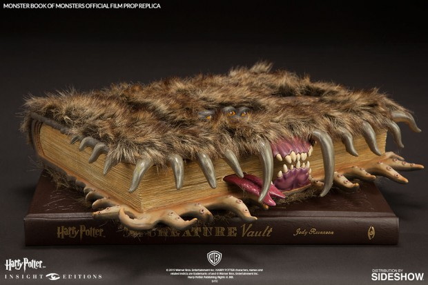 Harry Potter Monster Book Cover ~ Harry potter monster book of monsters replica expensivo