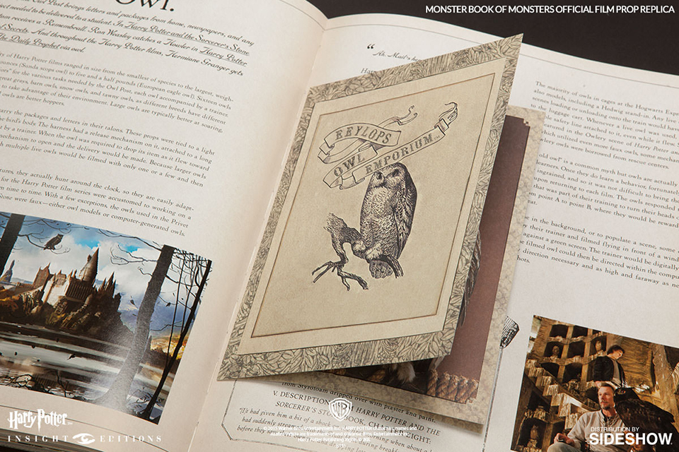 Harry Potter Monster Book Of Monsters Replica Expensivo