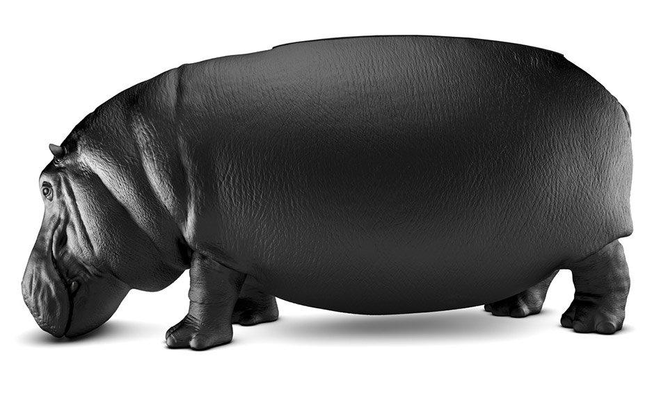 The Hippopotamus Chair Is Perfect For Fat Behinds