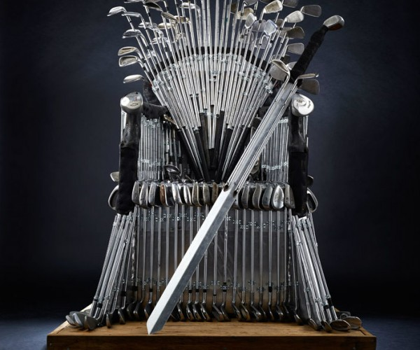 The Golf Iron Throne