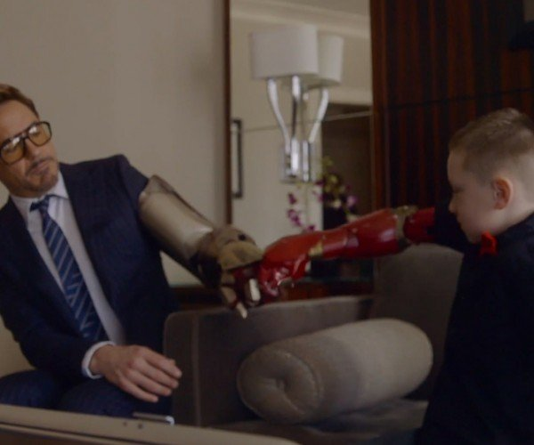 Iron Man Delivers Kid's Robotic Arm: Proof that Tony Stark Has a Heart