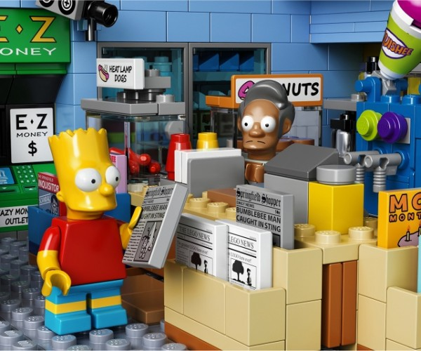 Official LEGO Kwik-E-Mart Playset