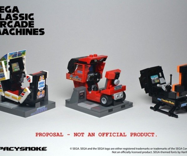 Make These LEGO Arcade Machines a Reality