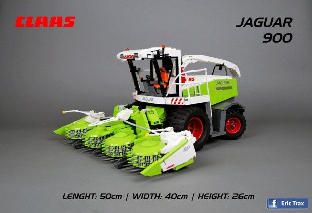 lego_claas_jaguar_forage_harvester_by_Michal_Skorupka_1
