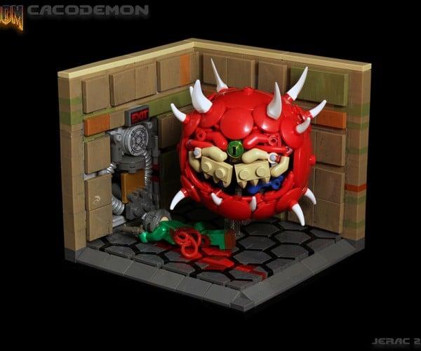 LEGO Doom Cacodemon: Brick Lightning