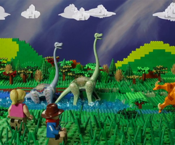 Fan Made LEGO Jurassic Park Stop Motion Short Film: Clever Girls and Boys