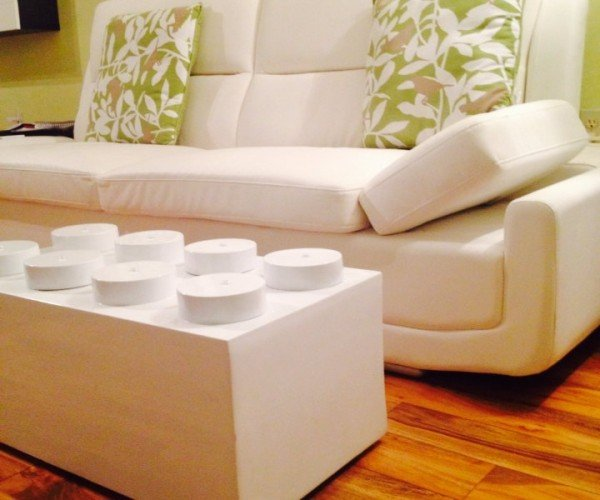 LEGO Brick Coffee Table: Furniture Is Awesome!