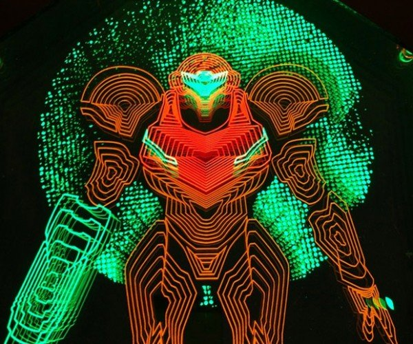 Awesome Video Game Light Art is Illuminating