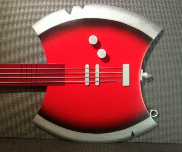 Custom Marceline's Axe Bass from Adventure Time
