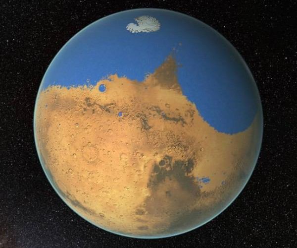 NASA Thinks Mars Used to Have More Water than is in the Arctic Ocean