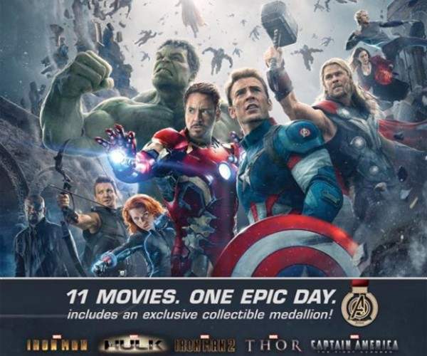 Ultimate Marvel Movie Marathon to Show 11 Flicks in One Day