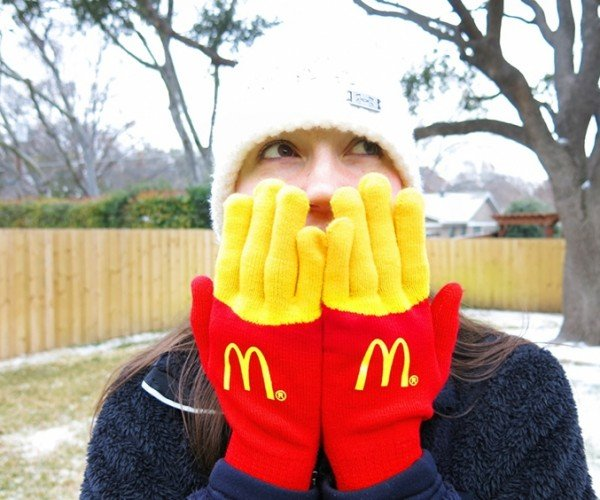 McDonald's Gloves Make Your Fingers Look Like French Fries