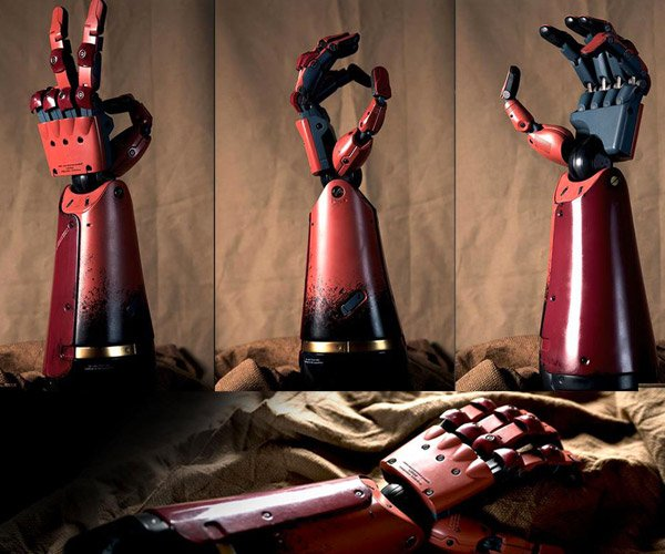 Metal Gear Solid V Japanese Premium Package Comes with Life-size Bionic Arm