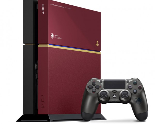 Metal Gear Solid V Maroon PS4 is Quite Fetching
