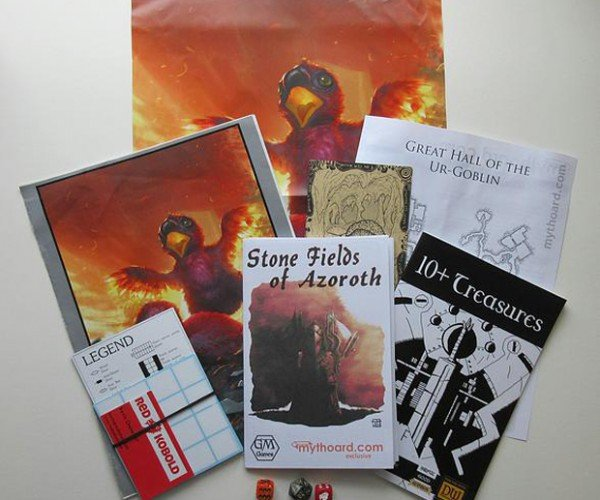 Mythoard Tabletop RPG Subscription Gift Box: Because DMs Want Loot Too