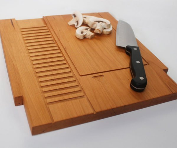 NES Game Cartridge Cutting Board: Super Chop Bros.
