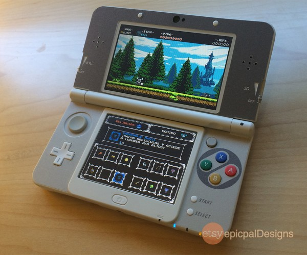 New Nintendo 3DS SNES Decal: So it is New or Old?!