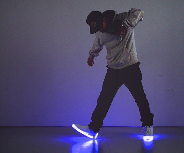 Orphe Light-up Motion Controller Shoes: Flashy Footwear