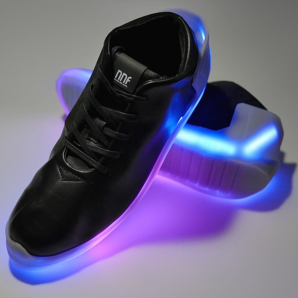 flashy footwear