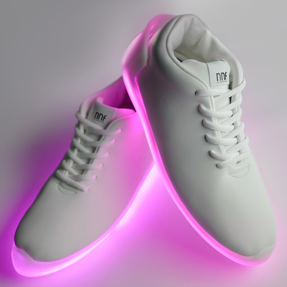 Orphe Light Up Motion Controller Shoes Flashy Footwear Technabob
