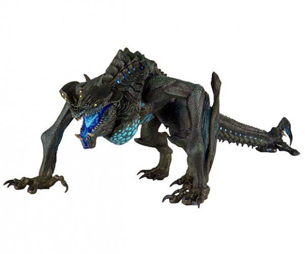 Pacific Rim Otachi Kaiju Action Figure Spits Blue Acid