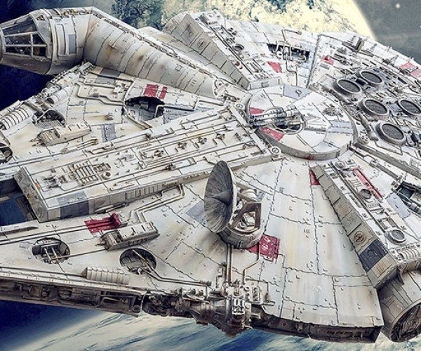 Papercraft Millenium Falcon Took Four Years to Build: Kessel Crawl