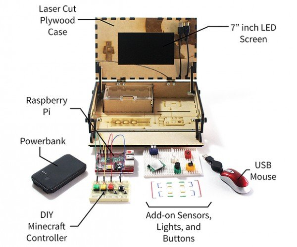 Piper DIY Minecraft Console: Gamecraft