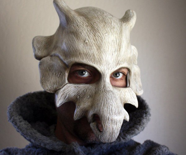 Pokémon Cubone Mask Replica: What Have You Done?!