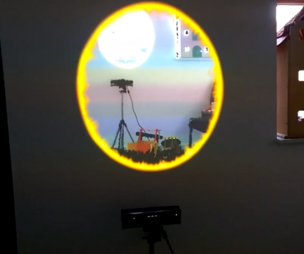 Real Life Portal Made with Kinect: You Are the Test Subject