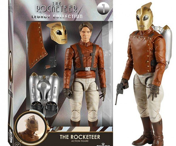 Rocketeer Legacy Action Figure Won't Work for Nazis