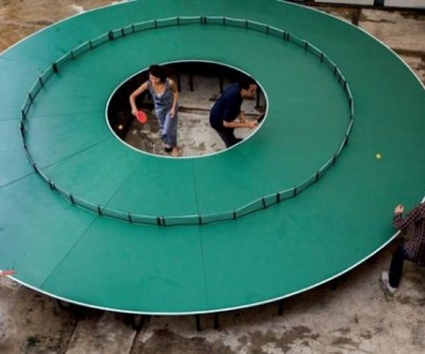 Round Ping Pong Table: Ping Pong 360