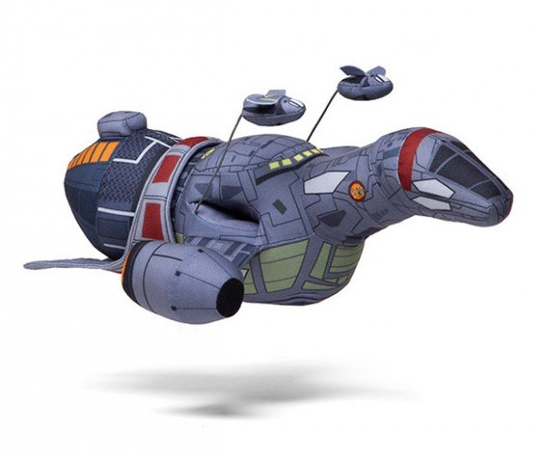 Firefly Serenity Plush Ship: Soft Sci-Fi