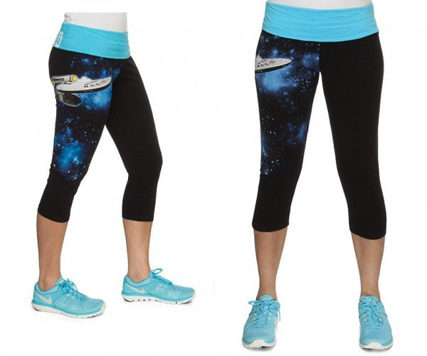 Star Trek Yoga Pants Boldly Hug Your Booty