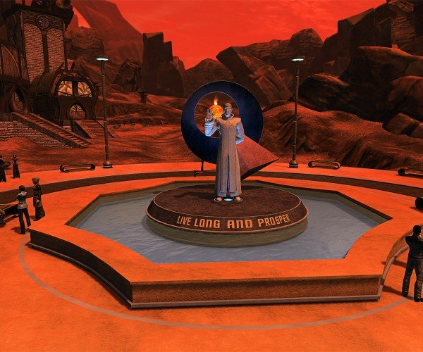 Star Trek Online's Memorial For Leonard Nimoy Is Finished