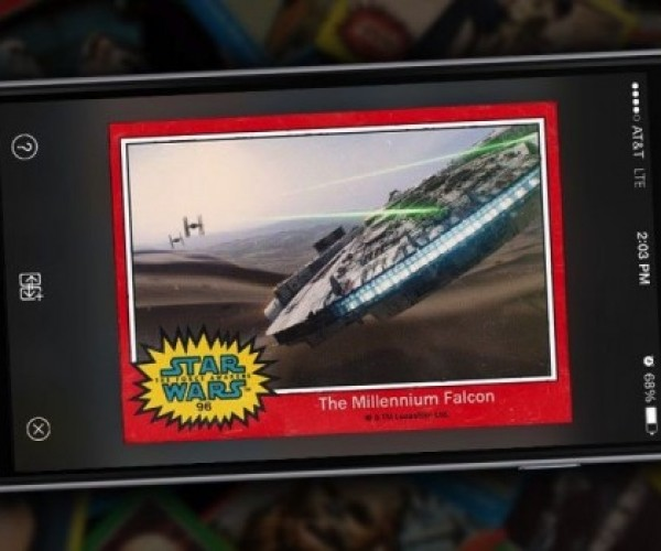 Star Wars Card Trader App: Your Lack of Gum Is Disturbing
