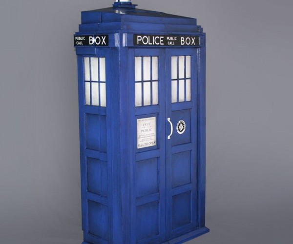 TARDIS Shelving System: The Doctor's Library