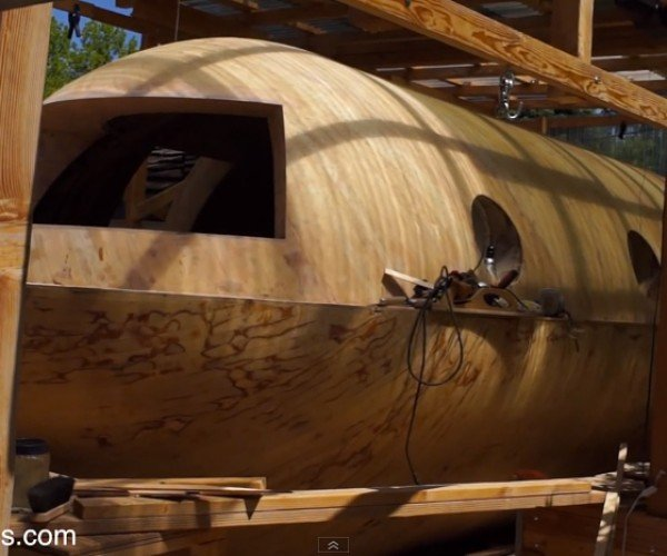 Man Building Wooden Boat That Can Withstand Tsunami: Tsunamiball