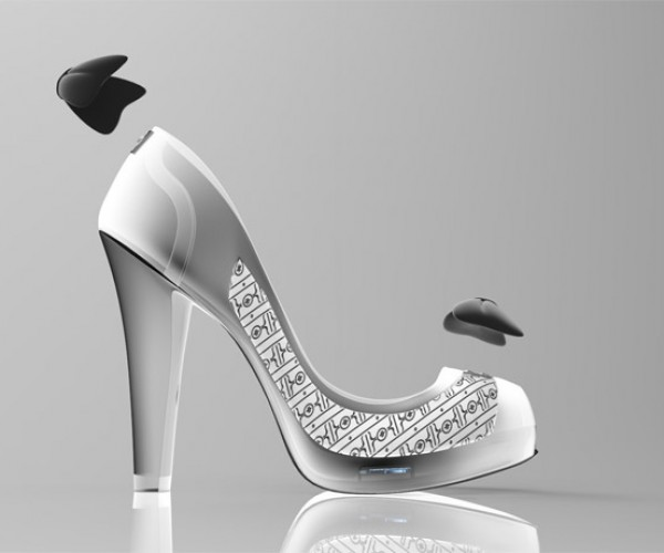 Volvorii E-Ink Shoe May Save Marriages