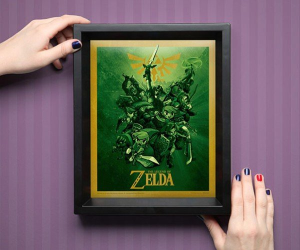 Legend of Zelda 3D Shadowbox: Take This!