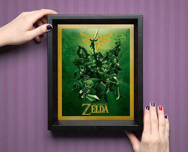 Legend of Zelda 3D Shadowbox: Take This! - Technabob